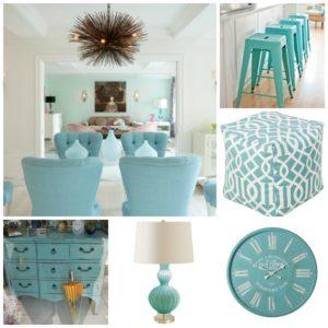 Aqua Collage