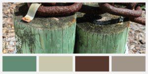 Fence color board