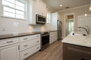 An unstated kitchen can look bland