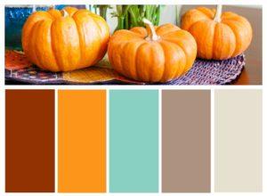 Thanksgiving color palette