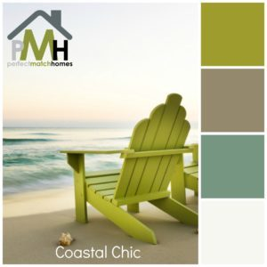 Coastal Chic color palette